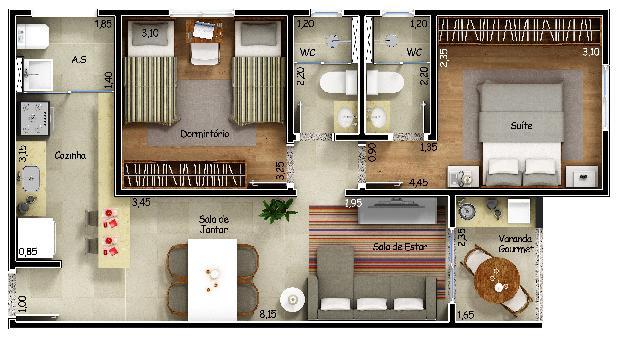 Comprar Apartamentos / Apto Padrão em Sorocaba apenas R$ 245.900,00 - Foto 3