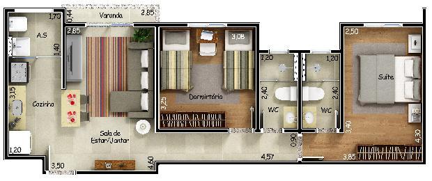 Comprar Apartamentos / Apto Padrão em Sorocaba apenas R$ 245.900,00 - Foto 4