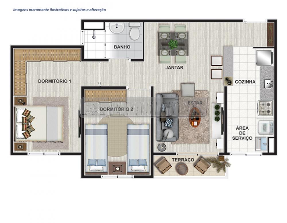 Comprar Apartamentos / Apto Padrão em Sorocaba apenas R$ 207.000,00 - Foto 3